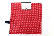 Tommy Hilfiger Men's Polka Dot Red Pocket Square Retail