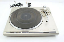 Vintage Pioneer PL-250 Turntable No Headshell, Needle, or Plastic Cover, Parts