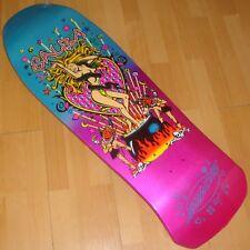 Santa cruz skateboard deck Steve Alba-Salba médico brujo Metálico Fade