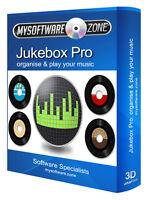 Music Jukebox CD MP3 Organizer Media Player Software Computer Program
