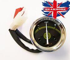 Royal Enfield actualizaciones, UCE bala Amperímetro Moto Bicicleta Amp calibre