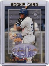 ADRIAN BELTRE 1997 AUTOGRAPHED COLLECTION STRONGBOX ROOKIE CARD! 3,000 HITS!