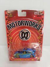 Motorworks Honda Civic Si Blue 1/64 2003