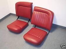 Jaguar XK140 Roadster Leather / vinyl seat upholstery Seat Covers