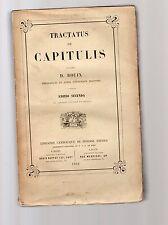 tractatus de judiciis ecclesiasticis - auctore d.bouix-  2 tomi - e 37