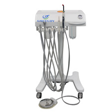 Greeloy Convenient Portable Dental Unit +Curing Light+Ultrasonic Scaler GU-P302