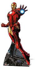Iron Man Marvel Los Vengadores Mini Cartón cutout/stand-Diversión Tamaño Para Los Fans