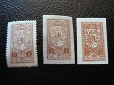 LITHUANIA CENTRALE - stamp yvert and tellier N° 32 x3 n HD ou nsg (ONE SIZE)