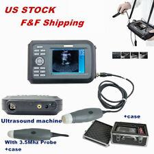 55 Digital Veterinary Ultrasound Scanner Machine Equine Bovine Pig Cow Animal