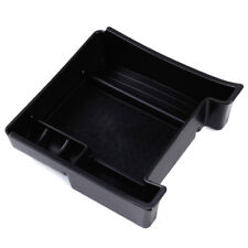 Black ABS Central Console Armrest Storage Box Tray for Volvo XC60 S60 2011-2017