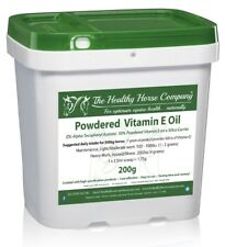 Vitamin E Oil - (Powder) 200g Tub (Allergy, Skin/Coat)
