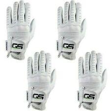 GS Golf Glove 100% PREMIUM New Men's Cabretta Leather! 4-Pack!