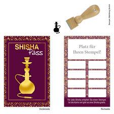 Shisha Pass Shisha Bar Liquid Vapo Bonuskarten Treuekarten 500 Stk.mit Stempel