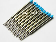 10pc BLUE JINHAO fit for Pk style Ballpoint Pen ink Refills