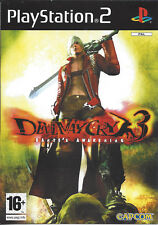 DEVIL MAY CRY 3 DANTE'S AWAKENING for Playstation 2 PS2 - with 2 discs - PAL