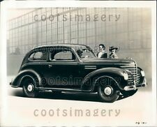 1938 1939 Vintage Plymouth Roadking Sedan Auto Press Photo
