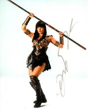 LUCY LAWLESS SIGNED XENA  PHOTO UACC REG 242 (1)
