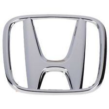NEW OEM Front Grille Mounted Honda H Emblem Nameplate Badge For Civic Sedan