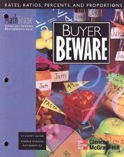 MathScape: Seeing and Thinking Mathematically, Grade 7, Buyer Beware, Student Gu