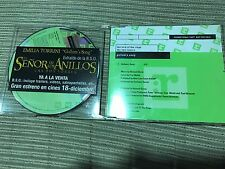 HOWARD SHORE GOLLUM'S SONG LORD OF THE RINGS CD SINGLE PROMO SPANISH STICKER