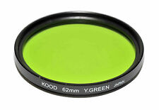 Kood Yellow/Green Japanese Made 62mm Filter