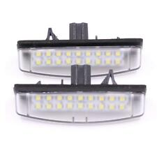 2pcs LED License Number Plate Lamp Light For Toyota Camry AURION 07 GSR50 Lexus