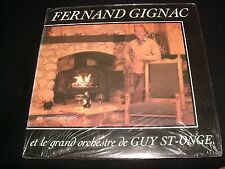 FERNAND GIGNAC<>EN TOUTE INTIMITÉ<>SEALED Lp VINYL~Can. Pressing~ R 1002