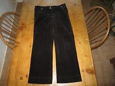 Christopher Banks sz. 14 wide wale black corduroy pants *EUC