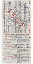 1927 State of Minnesota Non Resident Fishing License with Envelope