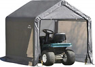 ShelterLogic 6' x 6' Shed-in-a-Box All Season Steel Metal Peak Roof Outdoor Shed
