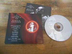 CD VA A Jazz Tribute To Stevie Wonder (13 Song) SONY MUSIC MEDIA digi