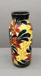 Schramberger Majolika Vase - 20er Jahre - Handgemalt - 21,5 cm