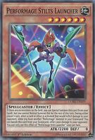 YU-GI-OH CARD: PERFORMAGE STILTS LAUNCHER - CORE-EN019 1ST EDITION