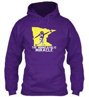 Minneapolis Miracle Vikings - The Gildan Hoodie Sweatshirt