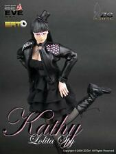 "ZC Girl 1/6 Scale 12"" Lolita Spy Kathy Collectible Female Action Figure Eve Body"