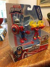 PLAYSKOOL HEROES MARVEL Captain America And Marvels Falcon