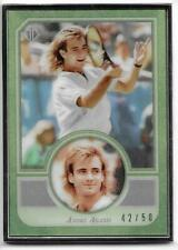 2020 Topps Transcendent Collection Hall of Fame Tennis #6 ANDRE AGASSI 42/50