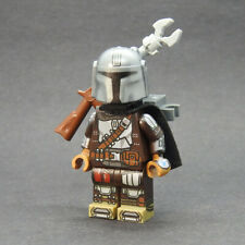 Custom Star Wars minifigures Mandalorian Din show s2 on lego brand bricks