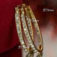 Swarovski Yellow Gold Filled Fashion Jewellery