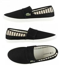 a5a5ca54b Lacoste Marice 219 Men s Croc Logo Casual Slip On Loafer shoes Sneakers  Black