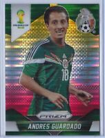 Andres Guardado Panini PRIZM World Cup 2014 Yellow and Red Pulsars #146