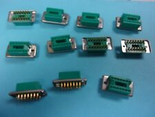 Augat Connector , 14 pin , lot of 11