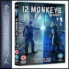 12 MONKEYS - COMPLETE SEASON 2  *BRAND NEW DVD **