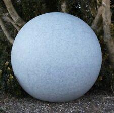Lampe de jardin à boule GlowOrb pierre 56cm Ø 10481