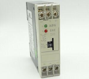 AEG ERE Zeitrelais Ansprechverzögert 910-346-712-00 On Delay Timer 1W 0,3-30min