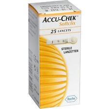 ACCU CHEK Softclix Lancet 25 St