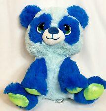 "Fiesta Sparkle Starz Eyes 15"" Blue Stuffed Panda Soft Plush Toy"