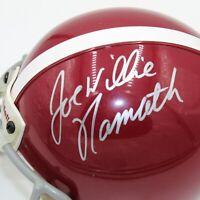 Joe Willie Namath Signed Riddell Alabama Crimson Tide Mini Helmet (Beckett COA)