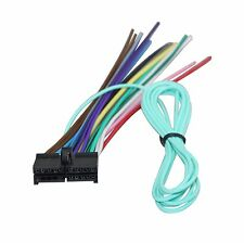 Standard Car Audio & Video Wire Harnesses for Jensen for ... on phase linear uv8020 wiring harness, jvc car stereo wiring harness, jensen vm9212n wiring harness,