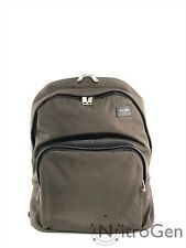 Jack Spade Nylon Twill Leather Book Back Pack Brand New